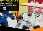 Video: Hokeja pēcgarša: ar Štālu un Vasiļjevu par Latvijas izcīnīto punktu pret čempioniem