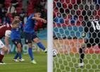 """Video: Itālija papildlaikā pieveic austriešus un iekļūst """"Euro 2020"""" ceturtdaļfinālā"""