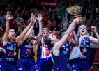 Brīnumainā Serbija satriec Franciju un otro reizi triumfē Eiropā