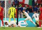 """Video: Itālija izslēdz beļģus un iekļūst """"Euro 2020"""" pusfinālā"""
