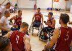 Latvijas ratiņbasketbolistu izlase startēs Eiropas čempionātā