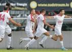 Jurkovskim brīdinājums Konferenču līgā, Kovaļonoka klubs grauj ČL kvalifikācijā