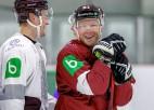 Latvijas izlase pārbaudes spēlē piekāpjas Rīgas ''Dinamo''