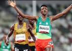 10000m distancē triumfē Barega, ASV diskvalificēta 4x400m jauktajā stafetē