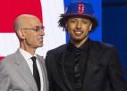 """NBA draftā """"Pistons"""" izvēlas Kaninghemu, """"Lakers"""" maiņā iegūst Vestbruku"""