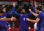 Francija pirmoreiz vēsturē spēlēs olimpiskā volejbola turnīra finālā