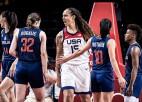 ASV dod pirmo triecienu un pusfinālā uzvar Serbiju