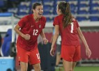 Kanādas futbolistes uzvar pendelēs un pirmoreiz izcīna olimpisko zeltu