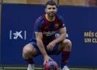 """""""Barcelona"""" jaunieguvumam Agvero savainojums, nespēlēs līdz novembrim"""