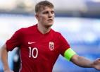 """""""Arsenal"""" samaksā 35 miljonus par Norvēģijas izlases kapteini"""