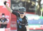 """Storers uzvar """"Vuelta a Espana"""" septītajā posmā, kopvērtējumā vadību saglabā Rogličs"""
