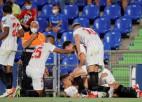 """Lamela pēdējā minūtē izrauj uzvaru, """"Sevilla"""" pēc 2. kārtas divvadībā ar """"Atletico"""""""