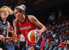 Taureņi vēderā: WNBA čempione Delle Donne atgriežas pēc 682 dienu pauzes