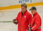 """Ābols: """"Olimpiskajā atlasē mēs esam favorīti, bet tas būs jāpierāda uz ledus"""""""