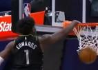 Video: NBA sezonas labākajos dankos uzvar drafta pirmais numurs
