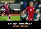 Teksta tiešraide: Latvija - Norvēģija 0:2, spēle galā