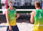 Latvijas pludmales volejbolistiem neizdodas pārvarēt kvalifikāciju Itālijā un Nīderlandē