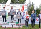Jauni čempioni vidējā distancē orientēšanās sportā