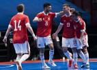 Lietuvai pirmajā Pasaules kausa spēlē sāpīga neveiksme, krievi uzvar ar 9:0