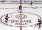 """Video: Rīgas """"Dinamo"""" nespēj atslēgt """"Lokomotiv"""" durvis"""