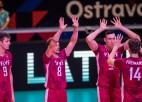 Video: Latvijas volejbolisti EČ astotdaļfinālā piekāpjas Itālijai