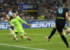 Džeko dublis, ''Inter'' iesit sešus un sagrauj Boloņu