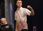 Razma cīņā par pusfinālu pret trīskārtējo pasaules čempionu van Gervenu