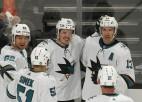 Video: Balcers sarūpē 1+1 NHL pārbaudes mačā