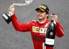 """Sainss: """"Līgumu ar """"Ferrari"""" parakstīju pidžamā astoņos no rīta"""""""