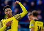 """Belingemam skaisti vārti Dortmundes uzvarā, """"Bayern"""" un """"Leipzig"""" mājās iesit četrus"""