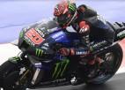 """Kvartararo pēc Baņaijas kritiena kļūst par pirmo franču """"MotoGP"""" čempionu"""