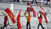 Soču spēles noslēgušās, Latvijas karogs Dreiškena rokās