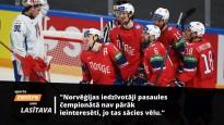 """Norvēģu hokeja apskatnieks: """"Lai uzvarētu Latviju, jāiemet trīs četri vārti"""""""