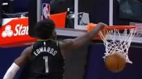 NBA sezonas labākajos dankos uzvar drafta pirmais numurs