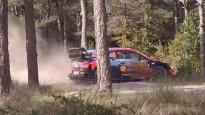 Tanakam avārija un Spānijas WRC beidzies