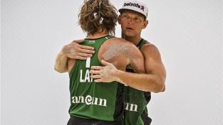 Samoilovs/Šmēdiņš izlaiž pārsvaru un pirmajā turnīrā Kankunā paliek piektie