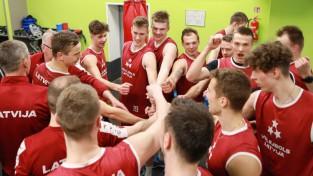 Bez Petrova un Egleskalna Latvijas volejbola izlase sāk gatavošanos Zelta līgai