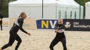 Latvijas pludmales volejbolistes kapitulē un netiek Kontinentālā kausa finālturnīrā