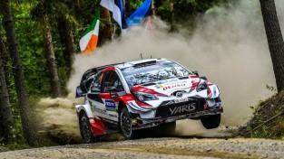 """Vai Tanakam izdosies treso reizi pēc kārtas uzvarēt """"Rally Finland""""?"""