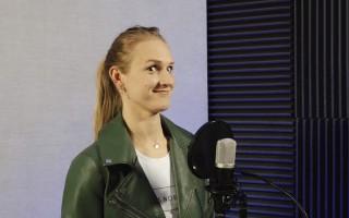 Video: Sprintere Vaičule latgaliešiem atklāj, ka patīk skatīties hokeju