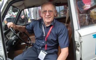 Safari WRC rallijā startēs 91 gadu vecs pilots