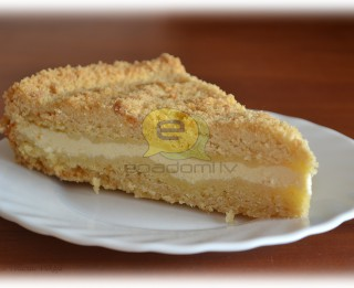 Fotorecepte: Drumstalu kūka ar biezpiena pildījumu