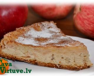Fotorecepte: ābolu pīrāgs soli pa solim