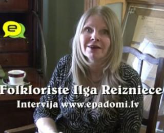 Video: ''Piedzīvosim Jāņus!'' : intervija ar Ilgu Reiznieci