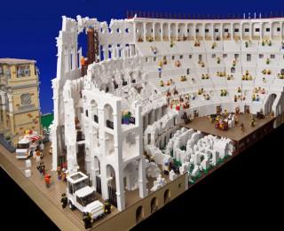 Romas Kolizejs no 200 000 Lego detaļām Austrālijas muzejā