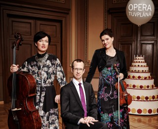 """Klavieru trio """"Opera"""" ar koncertu 7. maijā atzīmēs 15 gadu jubileju"""