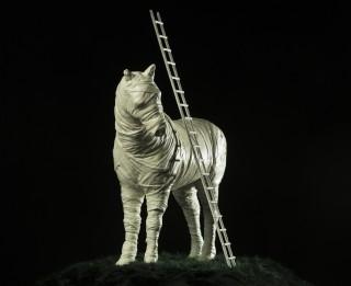 Daugavpils Marka Rotko centra zirgs top Liepājā