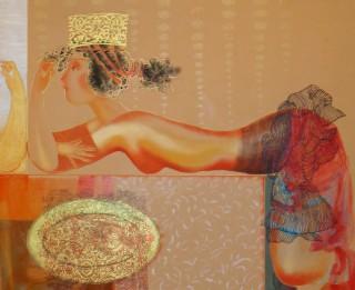 """Izstāde """"Ēdene un čūska"""" LMS galerijā"""