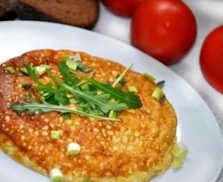 Gaisīgā brokastu omlete