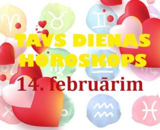 Tavs Valentīndienas horoskops 14. februārim